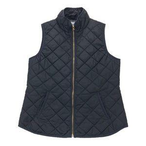 Old Navy Black Quilted Vest Size Medium